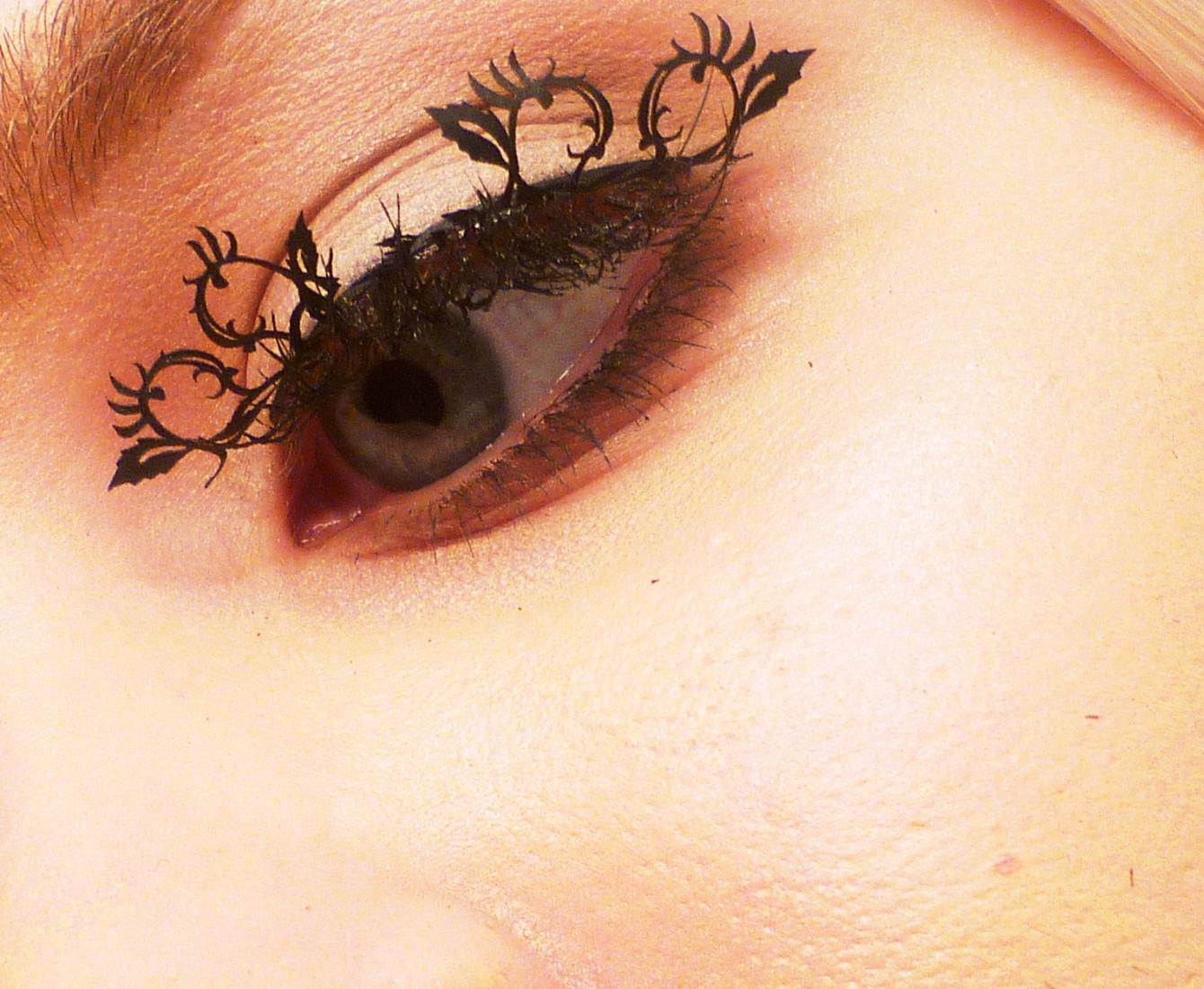 *PAPERSELF:紙做的美麗假睫毛,也太犯規了吧!誰能不注意? 5